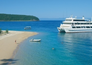 The Ultimate Great Barrier Reef Cruise Ship