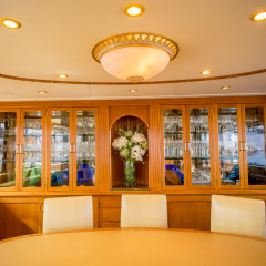 Luxury Private Charter Boat Queensland - Dining Room