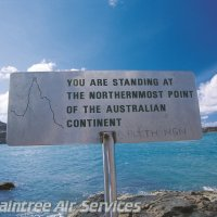 The very tip of Australia signage in Cape York