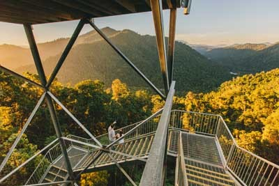 The View Gets Better As You Climb The Observation Tower
