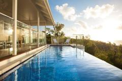 The Villa Pool and stunning Views