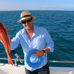 Throw a line over to the reef and catch a Red Emperor or a Coral Trout for dinner