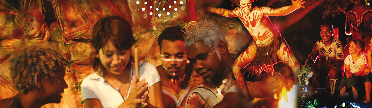 Cairns Aboriginal Cultural Dinner Show - By Night