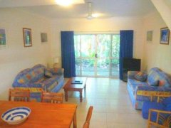 Townhouse Living Area - Port Douglas Accommodation