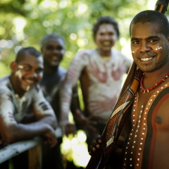 Traditional Aboriginal Dancers | Tjapuakai Day From Port Douglas