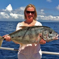 Trevally Reef fishing Port Douglas