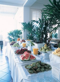 Tropical Buffet Breakfast