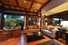Tropical Living Area - Far Pavillions Luxury Port Douglas Holiday Villa