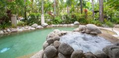 Tropical Swiming Pool at Driftwood Mantaray Apartments Port Douglas