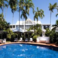 Tropical Swimming Pool & Spa at The Hotel Cairns - Cairns central hotel