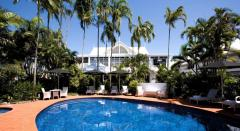 Tropical Swimming Pool at The Hotel Cairns - Cairns central hotel