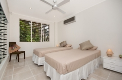 Twin Bedroom - Argentea Holiday House Palm Cove