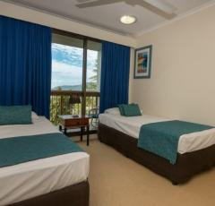 Twin Bedrooms at Coral Towers Cairns