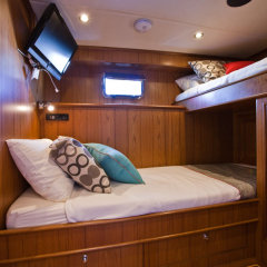 Twin room MV-A Cairns luxury private charter boat