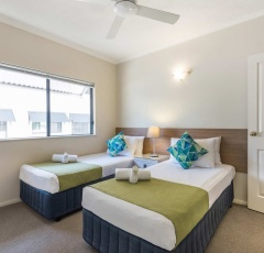 Two Bedroom Apartment 2nd Bedroom | Bay Villas Resort Port Douglas