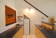 Loft Style Two Bedroom Kitchen Facilities - Trinity Beach Club Holiday Apartments