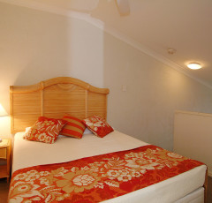 Two Bedroom Master Bedroom - Trinity Beach Club Holiday Apartments