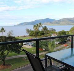 Two Bedroom Ocean View Apartment in Cairns