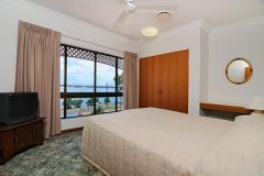 Two Bedroom Townhouse Bedroom - Seaview Motel Cooktown