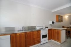Two Bedroom Townhouse Kitchen - Seaview Motel Cooktown