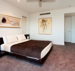 Two Queen Bedrooms at Santai Apartments