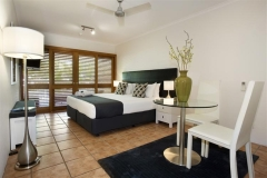 Luxury Studio Room - Poolview and Beachview available at Paradise On the Beach Resort Palm Cove