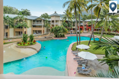 View across the Mantra Amphora swimming pool in Palm Cove | Palm Cove Accommodation