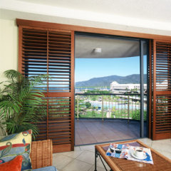 View from Ocean View Apartments Cairns Esplanade Resort