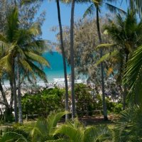 View from Port Douglas Beachfront Terrace Apartments
