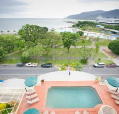 View from Swimming Pool- Cairns Esplanade Apartments