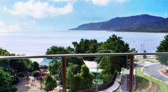 Cairns Accommodation-Water View Suites overlooking Cairns Esplanade