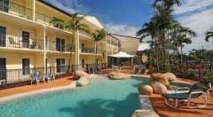 View of Exterior of Cairns Queenslander Apartments