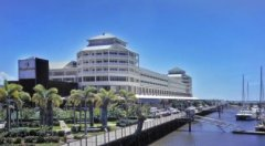 View of Shangri-La Hotel Cairns from the Marina