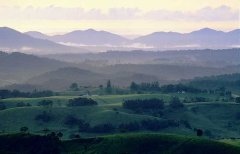 Views of mountains and valleys in Atherton Tablelands