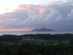 Views over Mission Beach and out to the Coral Sea - Mission Beach Luxury Accommodation