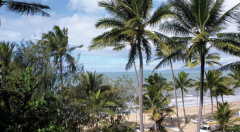 Views to Palm Cove Beach and the Coral Sea