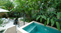 Private Plunge Pool & BBQ facilities in your own luxury private Port Douglas Holiday Apartment