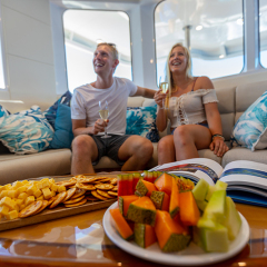 Luxury Reef Trips Cairns - VIP Great Barrier Reef Lounge | Full Day Departs Cairns