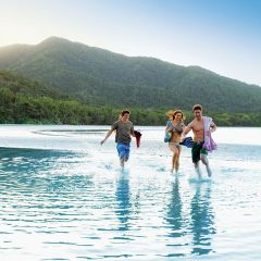 Visit Cape Tribulation beach on this private charter Daintree Rainforest tour