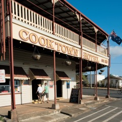 visit Cooktown hotel on private tour