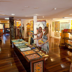 Visit the shops and Kuranda Village Markets