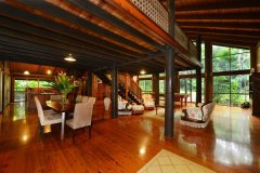 Open plan living to enjoy the beauty of the rainforest -  Daintree Retreat