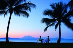 Watch the sunset from the waterfront parks in Port Douglas
