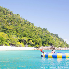 Water Trampoline Fitzroy Island - Cairns Combo Tours
