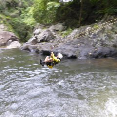 Waterfall Zipline - Canyoning Tour Cairns