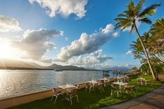 Waterfront Dining at Mondo Bar & Grill  Hilton Hotel Cairns