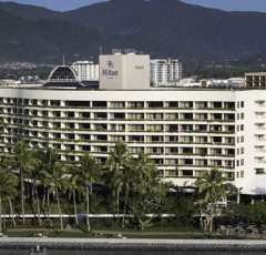 Waterfront location Cairns Hilton Hotel