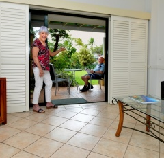 Waterfront Terraces Cairns Holiday Apartments Living Area