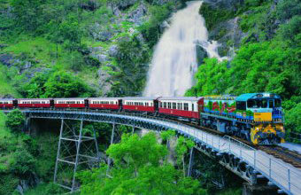We will book your group on the Kuranda Train