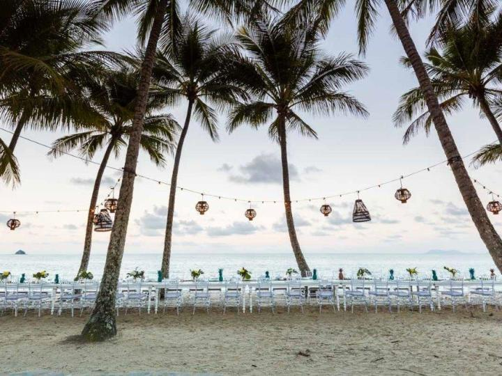 Weddings & Special Events can be catered for on the Beach at Palm Cove - ask us for details to suit your needs.